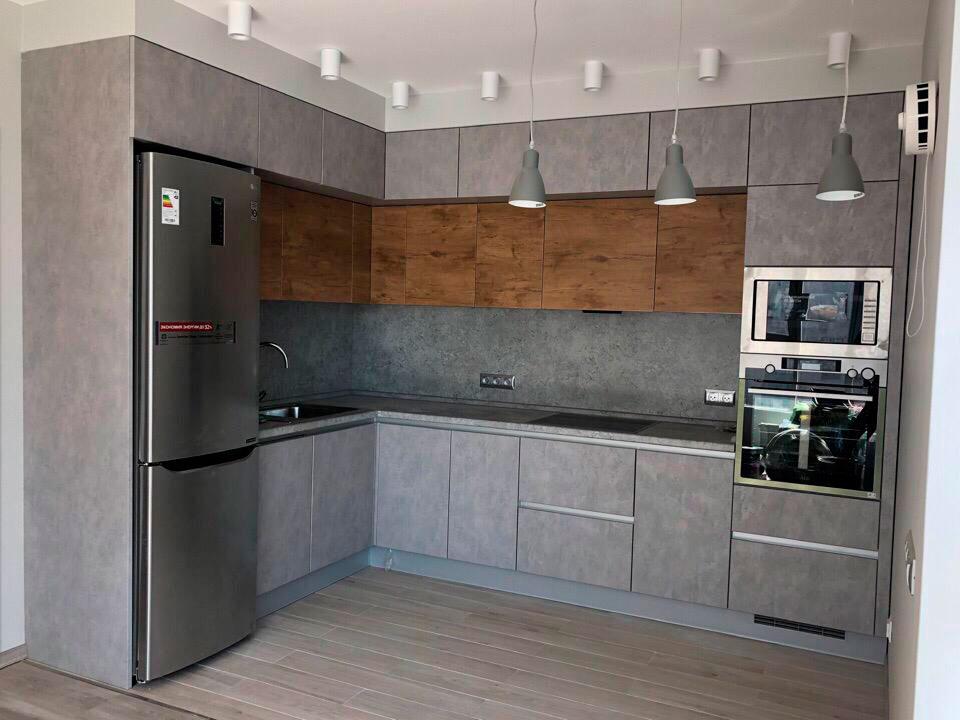 Кухни бетон серый шлифовка бетона цены в москве